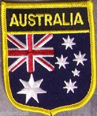 Embroidered International Patch National Flag of Australia NEW bunting