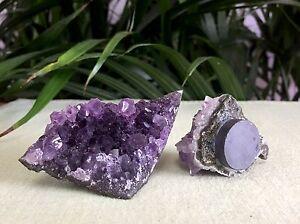 1-Amethyst-Magnet-Amethyst-Geode-Crystal-Quartz-Druze-Cluster-Gemstone-Specimen