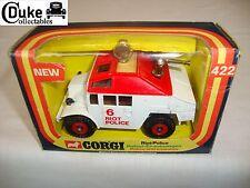 CORGI 422 RIOT POLICE VEHICLE - VERY GOOD in original BOX