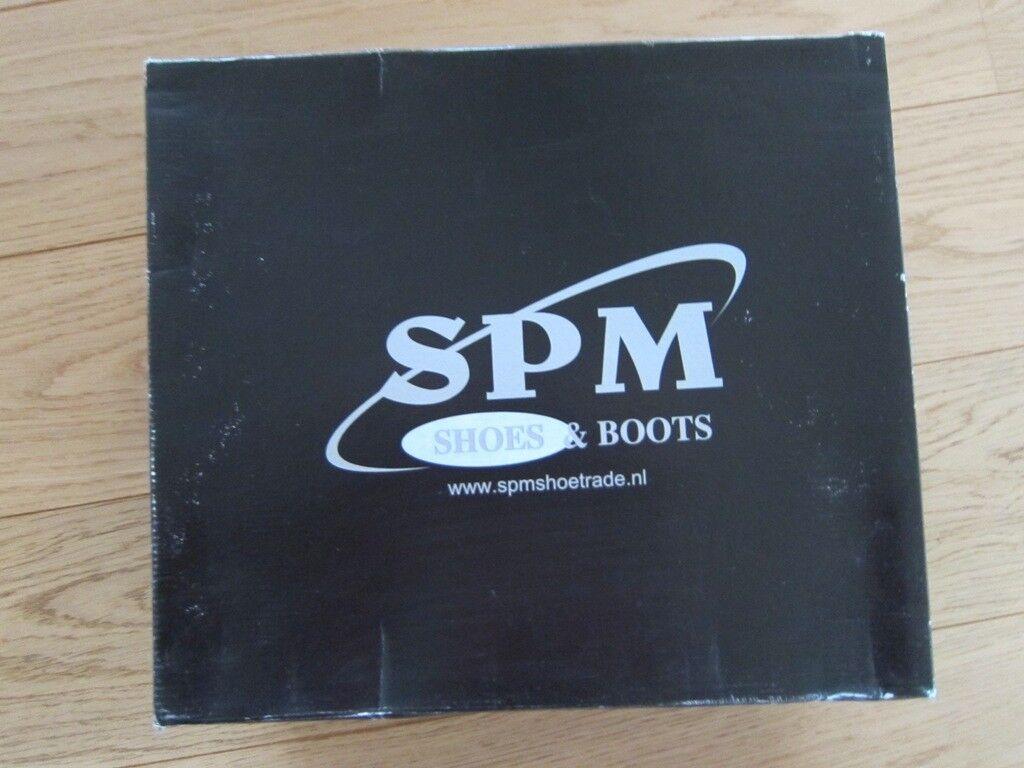 SPM mit Stiefel grau braun Gr. 41 TOP wie NEU mit SPM Karton mit Teddyfell gefüttert 6cd24f