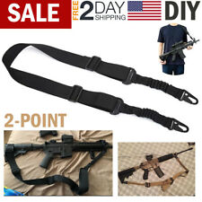 Double Loop Adapter Nylon One Single Point Sling - Black
