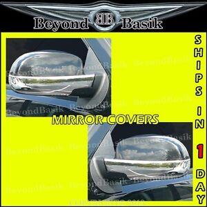 2007-2013 CHEVROLET SILVERADO//GMC Sierra 1500 Chrome Mirror Cover *Lower Half*