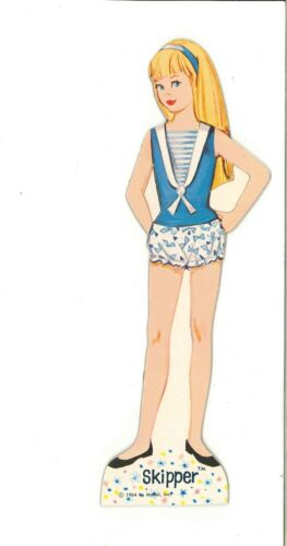VINTAGE 1964 SKIPPER BY DAY PAPER DOLLS ~ RARE PRETTY~ UNCUT LASER REPRODUCTION