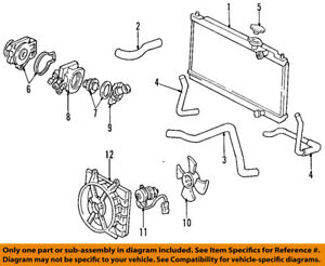 Acura Engine Cooling Diagram on