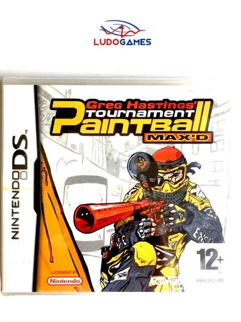 Greg Hastings Tournament Paintball Nintendo DS PAL/EUR Precintado Nuevo New
