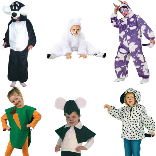 Kleinkinderkostüm Fries Karnevalskostüm Faschingskostüm Kinder Kostüm 98-116 neu