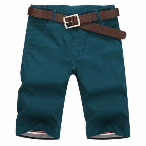 Hommes Short Chino Demi Pantalon Cargo Combat Solid Casual Business culture Pantalon SHP