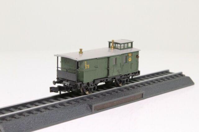 TRIX 23580 Spur N Schlußwagen Gepäckwagen der DRG mit Laternen Innenbeleuchtung