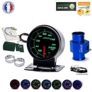 Kit Manómetro Temperatura de Agua Ø 52mm Con Adaptador Para Sonda - Run