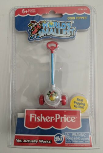 World/'s Smallest Fisher Price Corn Popper Toy