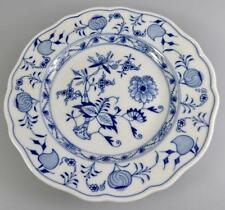 """MEISSEN BLUE+WHITE ONION PATTERN 7"""" TEA PLATE"""
