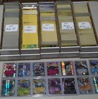 Pokemon TCG: Lot of 3 cards GUARANTEED EX or FULL ART + 2 Holo rare No trainers