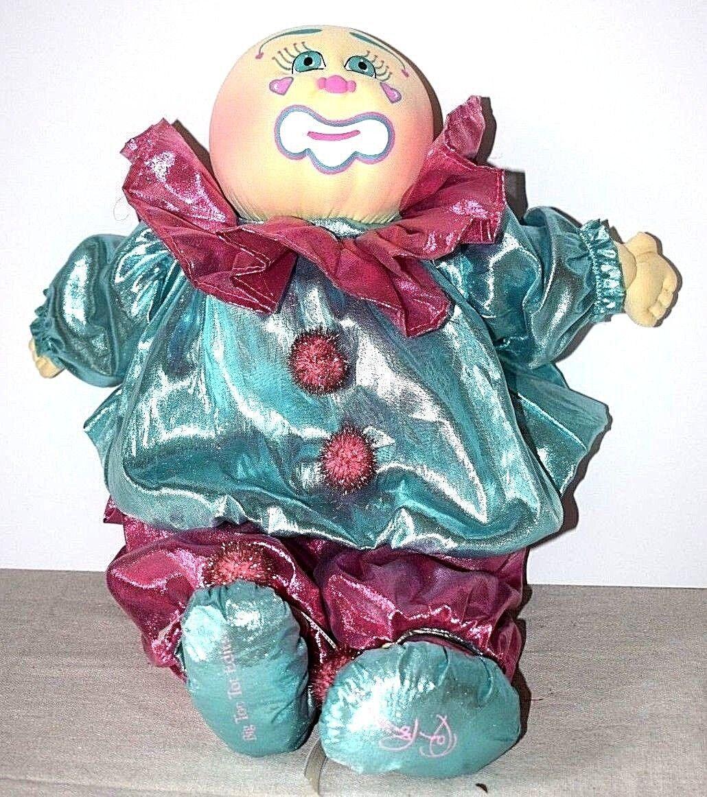 CabTaschee Patch Soft Sculpture Doll Baby 1991 Mitzi Big Top Tot Xavier Roberts 17