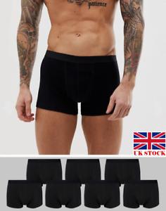 6 Pack Uomo Boxer Trunks Biancheria Intima Sport ricco 92/% COTONE fi̇t bxr3 3