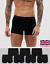 6-Pack-Men-Boxer-Shorts-Trunks-Rich-Sport-Underwear-92-COTTON-F-T-bxr3 Indexbild 1
