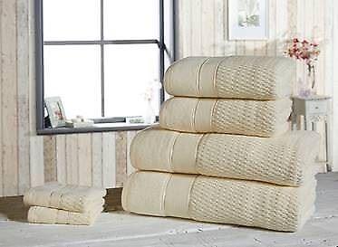 Luxe 100/% coton 2 pièces ou 6 Pièces Serviette Balles Main Visage Serviettes De Bain /& Feuille