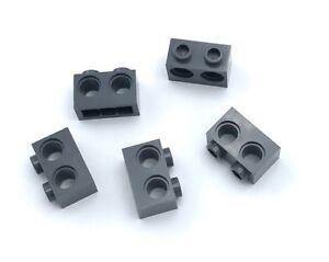 Lego 5 New Black Technic Bricks 1 x 1 with Hole