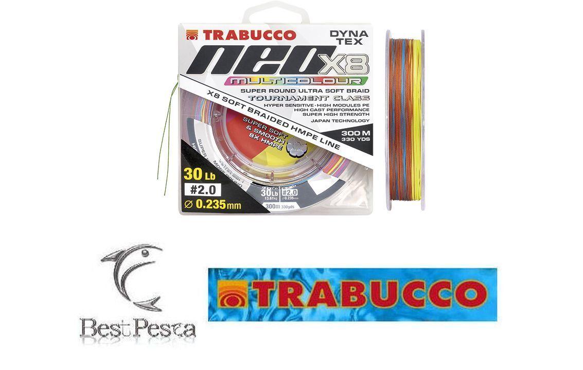 TRABUCCO - NEO X8 MULTICOLOR - 300mt - Ø 0,285 - 40 LBS