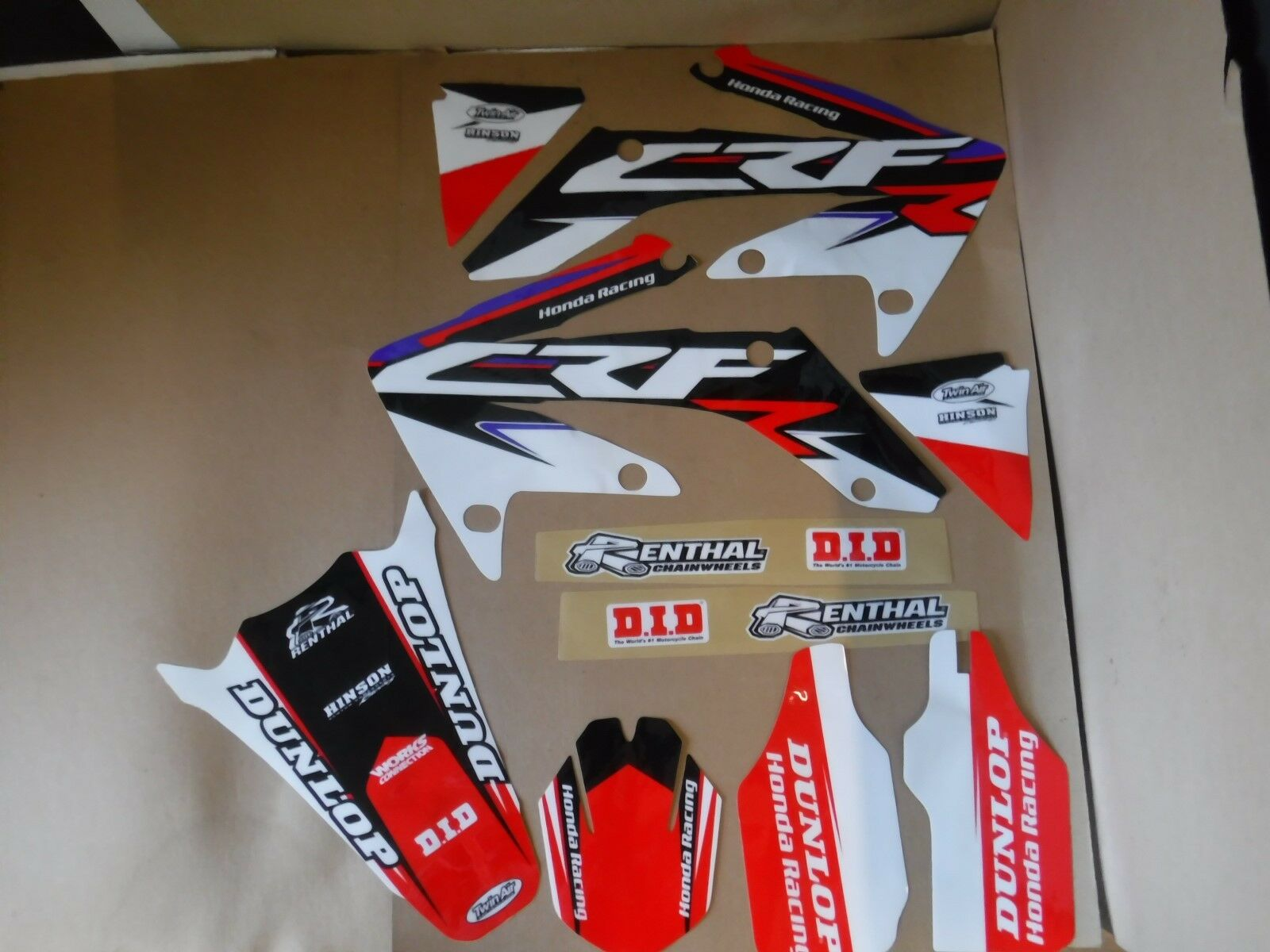 TEAM HONDA RACING PTS GRAPHICS  HONDA CRF250R  2004 2005 2006 2007 2008 2009 4