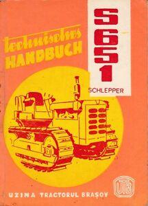 Technisches-Handbuch-Schlepper-S-651-2-Ausgabe-1974-Raupenschlepper