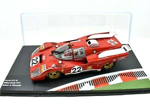 Models Car Ferrari Racing Collection Scale 1/43 diecast 512 S IXO vehicles