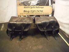 1994 94 Yamaha Virago XV750 XV 750 Saddlebags Saddlebag Saddle Bags Bag Luggage