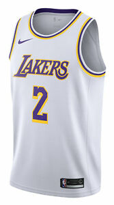 0fe3ecfcc9f Nike Lonzo Ball Association Edition (Los Angeles Lakers) Men s Swingman  Jersey - White