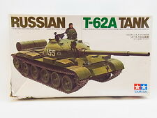LOT 17494   Tamiya MM208 Russian Tank T-62A 1:35 ungebaut in OVP m. Lagersp.