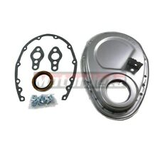 Racing Power Company R4932R Unplated Timing Chain Cover for Small Block Chevy