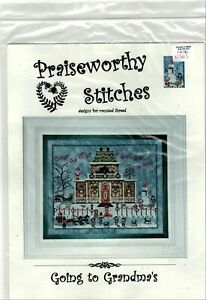 Praiseworthy-Stitches-Christmas-Cross-Stitch-Patterns-You-Pick-Santa-or-Grandmas