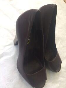 Shoes | Nwt Nude Chunky Heel Sandals | Poshmark