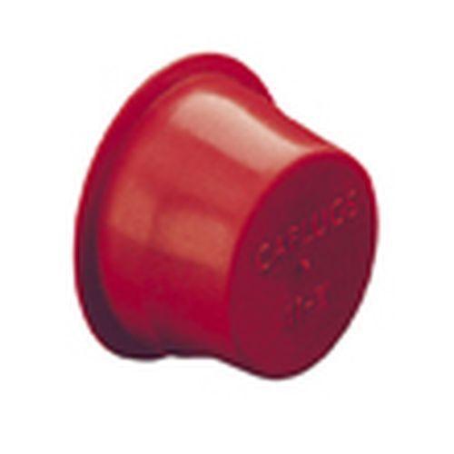 "Caplugs T-210 1.84/"" Tapered Red Plug Cap Qty:5,10,25,50,100"