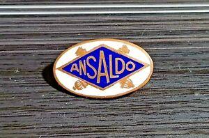 Sammeln & Seltenes Auto & Motorrad Maße 24x14mm Zielsetzung Ansaldo Brosche Automobile Emailliert Alt+original