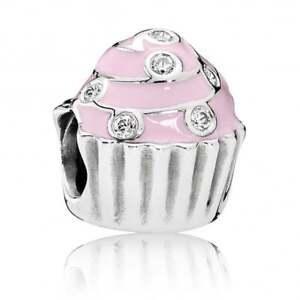 Genuine-Pandora-Sterling-Silver-Sweet-Cupcake-charm-791891EN68