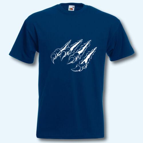 T-shirt s-xxxl Fun-shirt Grusel Halloween d/'horreur doigt