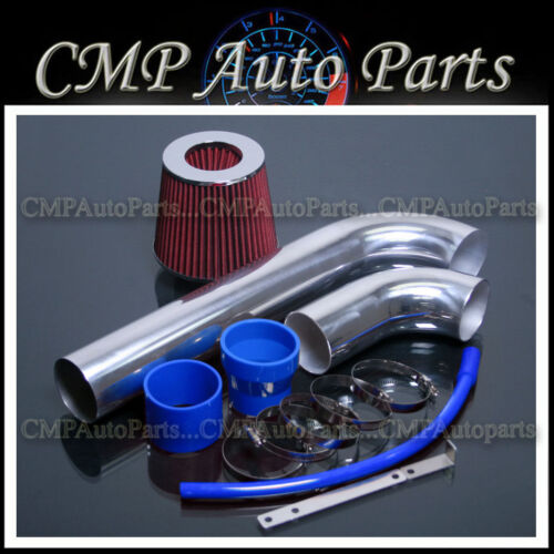 BLUE RED 2005-2006 JEEP WRANGLER 4.0 4.0L RUBICON I6 AIR INTAKE KIT SYSTEMS