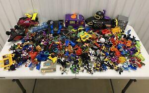 Huge-Imaginext-Figures-Lot-Villians-Super-Friends-DC-Vehicles-And-More