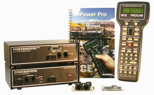 NCE nuevo 2018 ph-Pro 10 Amp Starter Set con decodificador D408SR 0006 para escalas de gran tamaño