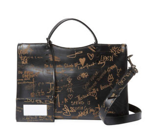 Blackout Valentine's City Graffiti Bag Day Black Balenciaga In WUOP6fxP