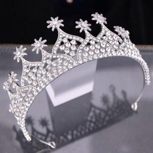 Rhinestone Crystal Pearl Hair Hoop Headband Headpiece Bride Tiara Crown Weddings