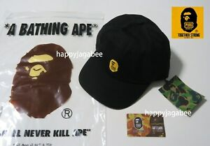 A-BATHING-APE-Men-039-s-Goods-BAPE-x-PUBG-Snap-Back-CAP-with-Card-From-Japan-New