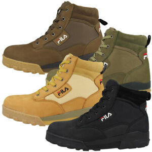 Details about FILA Grunge II Mid Shoes Outdoor Boots Retro Trekking Hiking Boots 1010700 show original title