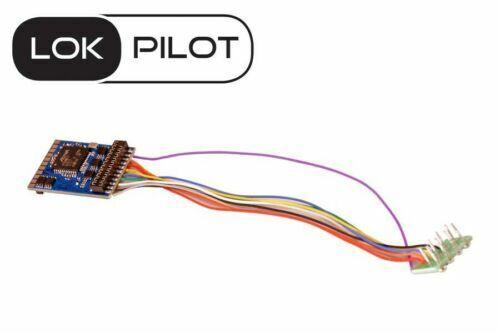 Stecker nach NEM 652 ersetzt 54610 mit 8-pol ESU 59610 HO LokPilot V5.0