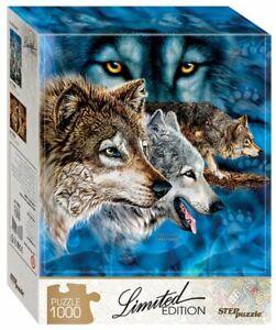 """Puzzles 1000 pieces 48*68 cm """"Find 12 wolves"""" Step Puzzle 79806"""