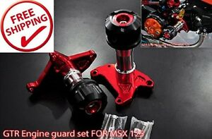 image is loading engine guards set honda grom msx 125 frame