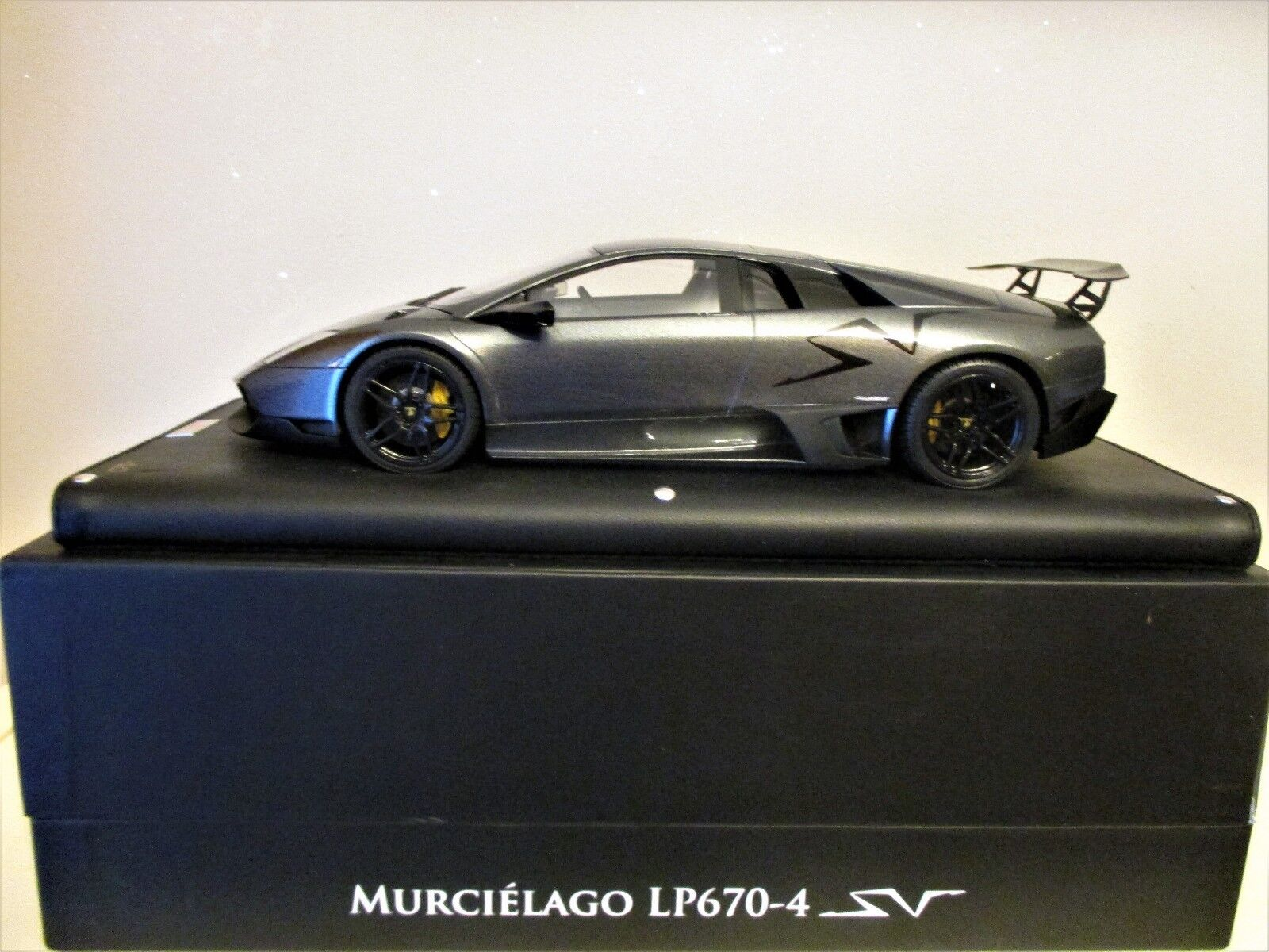 LAMBORGHINI LP670-4 SV MR  GRIGIO ESTOQUE N° 10 LAMBO02RL NEW CONDITION