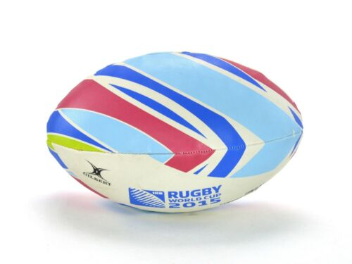 GILBERT RUGBY RWC 2015 OFFICIAL SUPPORTERS BALL - RUGBY BALL - SIZE 5 - NEW