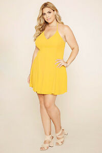 cc02c1de8bf Image is loading Forever-21-Plus-Size-Aspen-Gold-Caged-Cami-