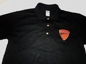 DUCATI racing moto GP motorbike motorcycle polo shirt Embroidered Patch