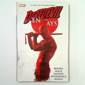 DAREDEVIL End of Days - David Mack & Brian Michael Bendis (TPB,2014) Marvel